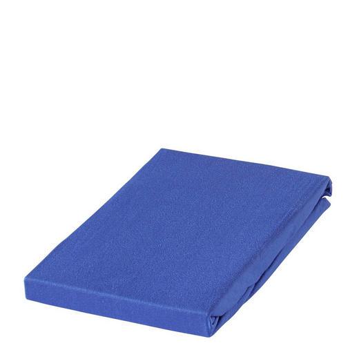 SPANNBETTTUCH Jersey Blau - Blau, Basics, Textil (65/135cm) - SCHLAFGUT