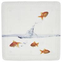 DUSCHEINLAGE Kunststoff - Multicolor, KONVENTIONELL, Kunststoff (55/55cm) - Kleine Wolke