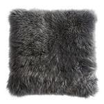 KISSENHÜLLE Anthrazit 40/40 cm  - Anthrazit, Basics, Textil/Fell (40/40cm) - Esposa