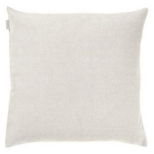 ZIERKISSEN - Weiß, Textil (60/60/4cm) - LINUM
