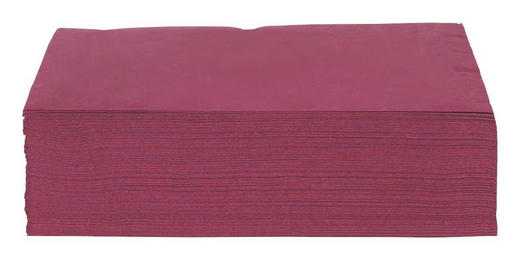 SERVETT - lila/aubergine, Basics, papper (40/40cm) - XXXLPACK