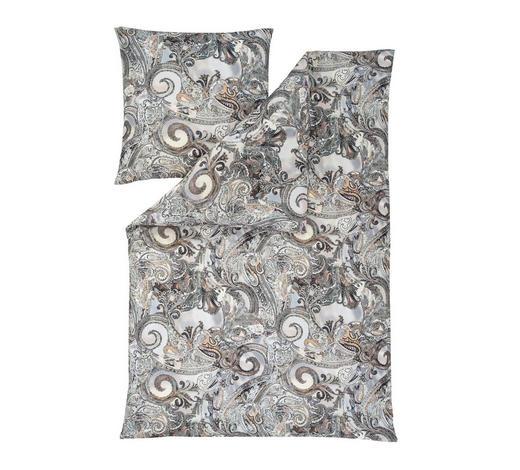 BETTWÄSCHE Interlock-Jersey Grau 135/200 cm - Grau, Basics, Textil (135/200cm) - Estella