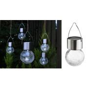 SOLARLEUCHTEN-SET 5-TLG. - Basics, Glas/Metall (6/10cm)