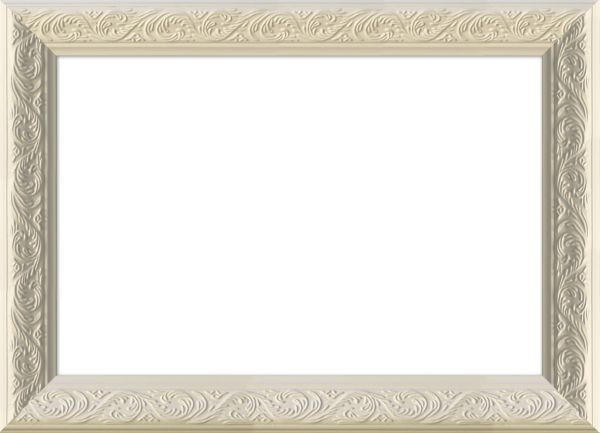 BILDERRAHMEN  Weiß - Weiß, Basics, Glas/Holz (37/27cm)
