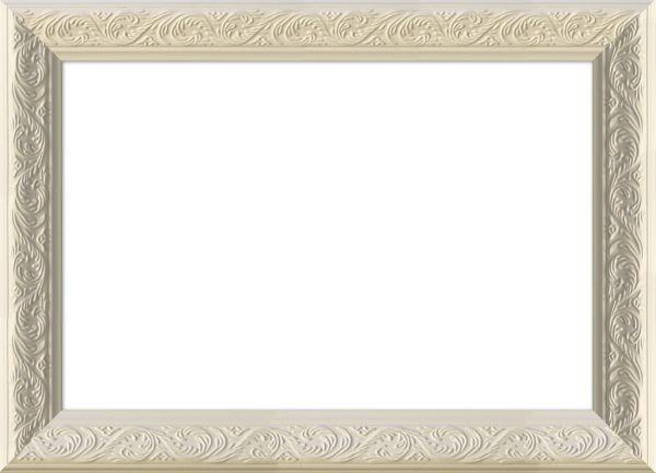 RÁM NA OBRAZY - bílá, Basics, dřevo/sklo (37/27cm)