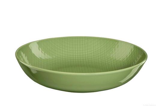 SUPPENTELLER Porzellan - Grün, Keramik (20/4,5cm) - ASA