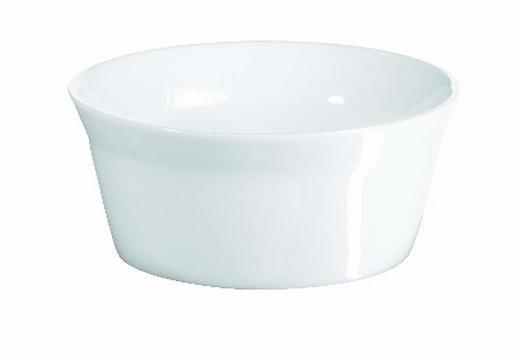 AUFLAUFFORM Keramik Porzellan - Weiß, Basics, Keramik (10.5cm) - ASA