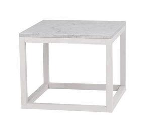 SOFFBORD - vit, Design, trä/sten (60/50/60cm) - Rowico