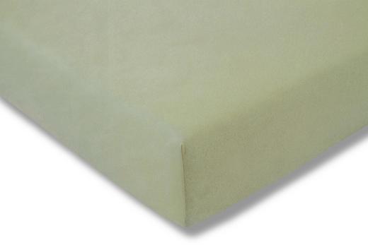 SPANNBETTTUCH Mooreichefarben bügelfrei - Mooreichefarben, Basics, Textil (100/200cm) - Estella