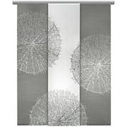 FLÄCHENVORHANG in Grau - Grau, Design, Textil (60/255cm) - Novel