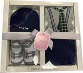 BABYGESCHENKSET - Blau, Basics, Textil - My Baby Lou