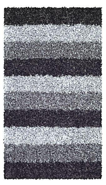 BADTEPPICH  Schieferfarben  70/120 cm - Schieferfarben, Kunststoff/Textil (70/120cm) - KLEINE WOLKE
