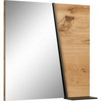 SPIEGEL Eiche Eichefarben - Eichefarben, Design, Glas/Holz (64/64,6/15,2cm) - VOGLAUER