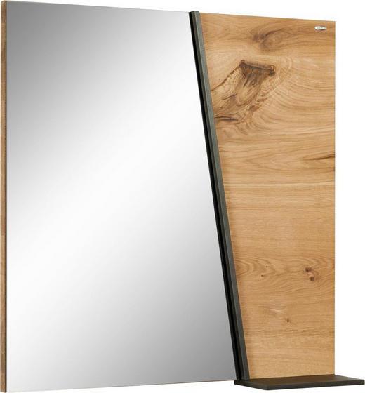 SPIEGEL - Eichefarben, Natur, Glas/Holz (64/64,6/15,2cm) - VOGLAUER