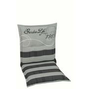 JASTUK ZA STOLICU - siva/antracit, Design, tekstil (50/100/8cm) - Ambia Garden