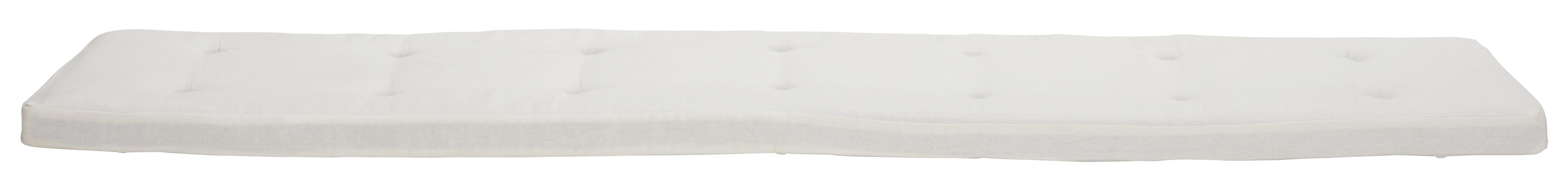 SEDÁK - bílá, Lifestyle, textil (160/5/40cm) - LANDSCAPE
