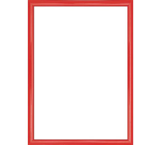 BILDERRAHMEN in Rot  - Rot, Basics, Glas/Kunststoff (41/31/1.75cm)