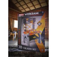 WERKBANK, 30TLG. - Gelb/Orange, KONVENTIONELL, Kunststoff (48/65/28cm)