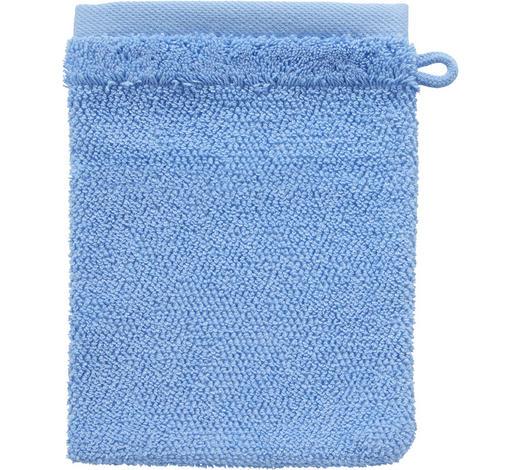 WASCHHANDSCHUH - Blau, Natur, Textil (16/21cm) - Bio:Vio