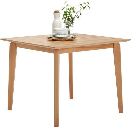 ESSTISCH in Holz - Buchefarben, Design, Holz (95/95/75cm) - Celina Home