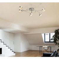 LED STROPNÍ SVÍTIDLO - Design, kov/umělá hmota (76,4/48/22,5cm)