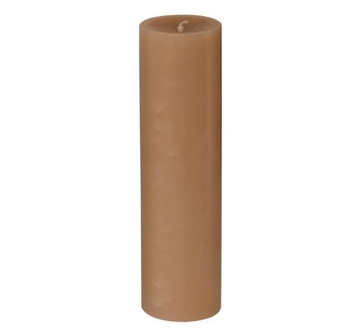 STUMPENKERZE 6,8/25 cm - Beige, Basics (6,8/25cm) - Steinhart