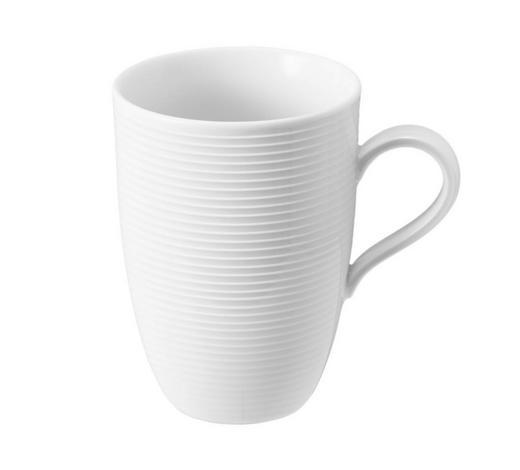 KAFFEEBECHER - Weiß, Basics, Keramik (12,8/9,3/12,5cm) - Seltmann Weiden