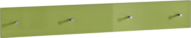 GARDEROBENLEISTE - Grün, Design, Holzwerkstoff (106/15/5cm) - Xora
