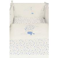 SET ZA DJEČJI KREVETIĆ - bijela/plava, Basics, tekstil (100/140/160cm) - My Baby Lou
