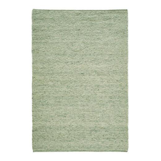 HANDWEBTEPPICH  170/230 cm  Grün - Grün, Basics, Textil (170/230cm) - Linea Natura
