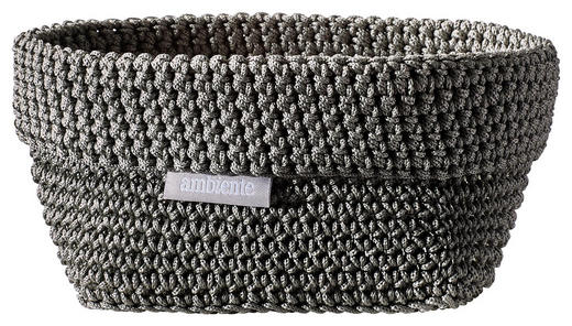 AUFBEWAHRUNGSBOX - Grau, Design, Textil (15/10/9cm) - Ambiente