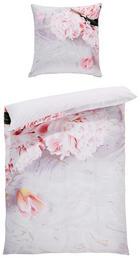 BETTWÄSCHE Mikrofaser Multicolor, Rosa 135/200 cm - Multicolor/Rosa, Basics, Textil (135/200cm)