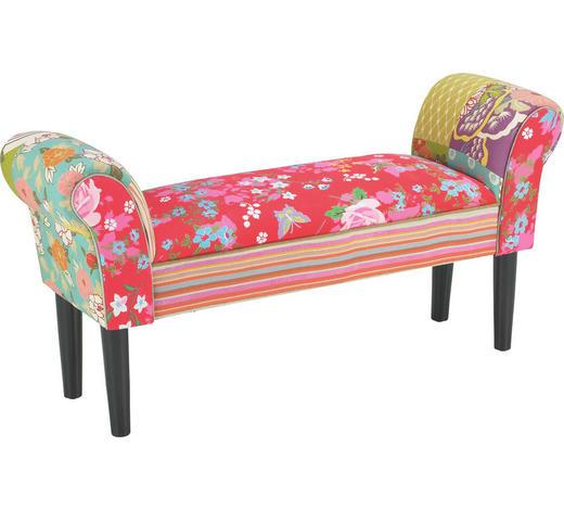 SITZBANK  in Multicolor - Multicolor/Schwarz, LIFESTYLE, Holz/Textil (102/51/31cm)