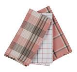 GESCHIRRTUCH 3-teilig Pink  - Pink, KONVENTIONELL, Textil (50/70cm) - Esposa