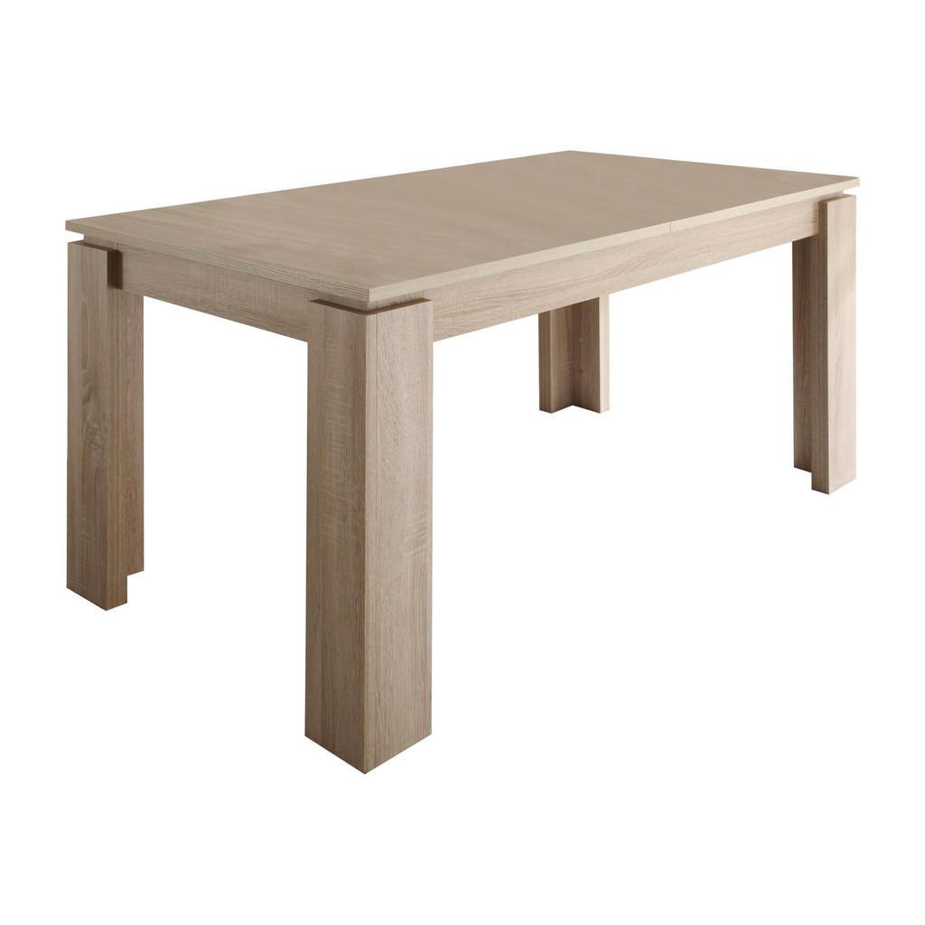 Esstisch In Holzwerkstoff 160(200)/90/77 Cm