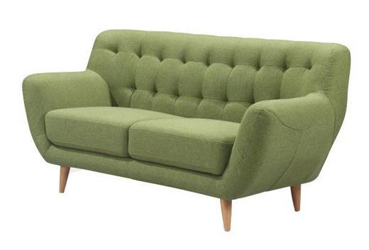 DVOSJED SOFA - zelena, Design, drvo/tekstil (147/79/82cm) - Ti`me