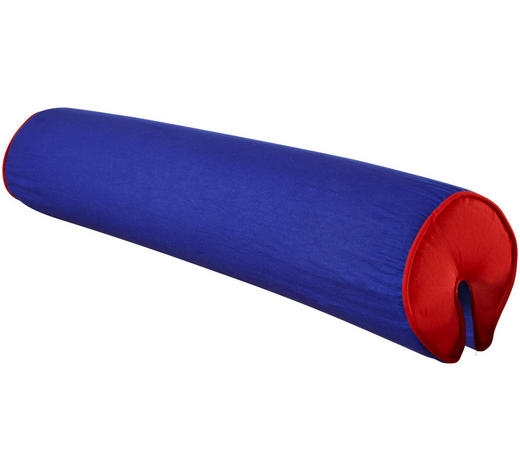 NACKENROLLE - Blau/Rot, Design, Textil (80cm)