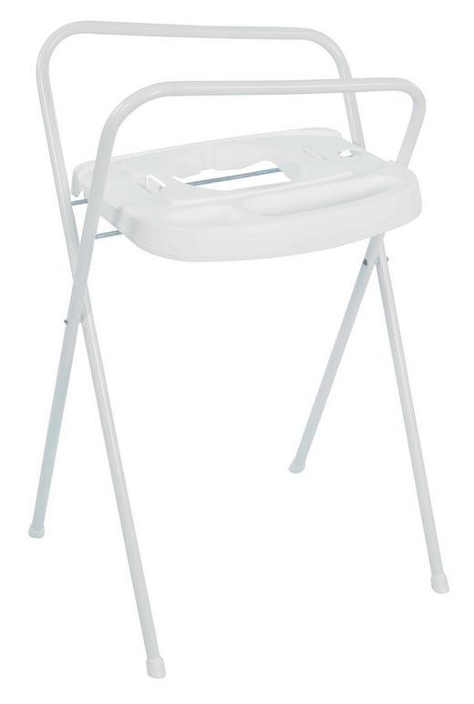 BADEWANNENSTÄNDER - Weiß, Basics, Kunststoff/Metall (103cm) - Bebe Jou