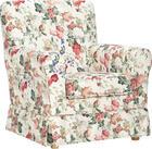 FOTELJ  večbarvno tekstil - naravna/večbarvno, Trend, tekstil/les (79/86/85cm) - Ambia Home