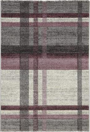 VÄVD MATTA 120 170  cm - beige/gammelrosa, Klassisk, ytterligare naturmaterial/textil (120/170cm) - Novel
