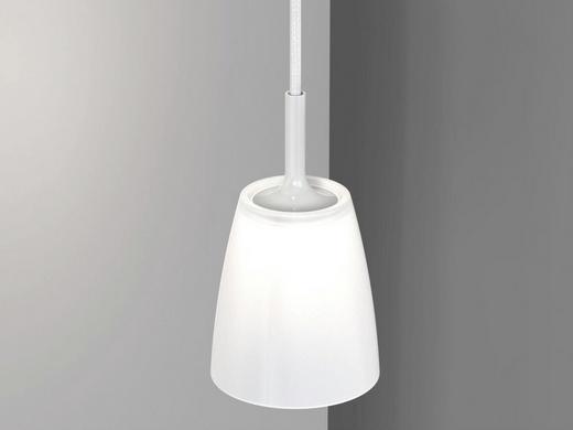 LED-HÄNGELEUCHTE - Weiß, Design, Glas/Metall (11/32cm)