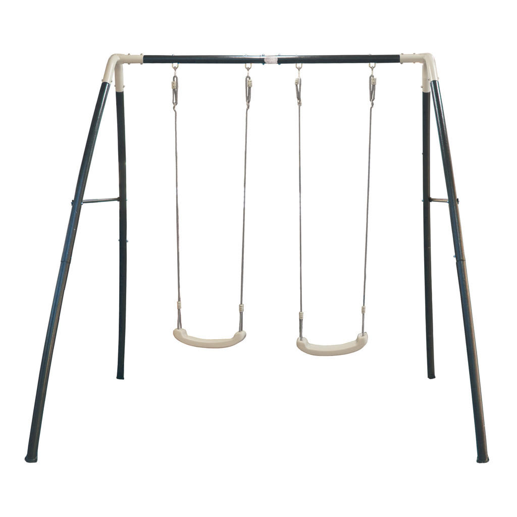 XXXLutz Schaukel metal double swing anthrazit