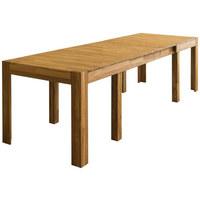 AUSZIEHTISCH in Holz 160(280)/90/75 cm   - Eichefarben, Natur, Holz (160(280)/90/75cm) - Carryhome