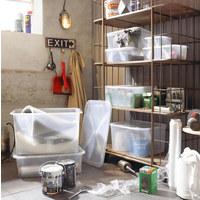 BOX MIT DECKEL 42/35,1/23 cm - Naturfarben, KONVENTIONELL, Kunststoff (42/35,1/23cm) - Rotho