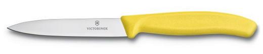 GEMÜSEMESSER - Gelb/Silberfarben, Basics, Kunststoff (23cm) - Victorinox