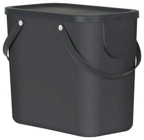 AVFALLSSAMLARE - mörkgrå, Basics, plast (40/23,5/34cm) - Rotho