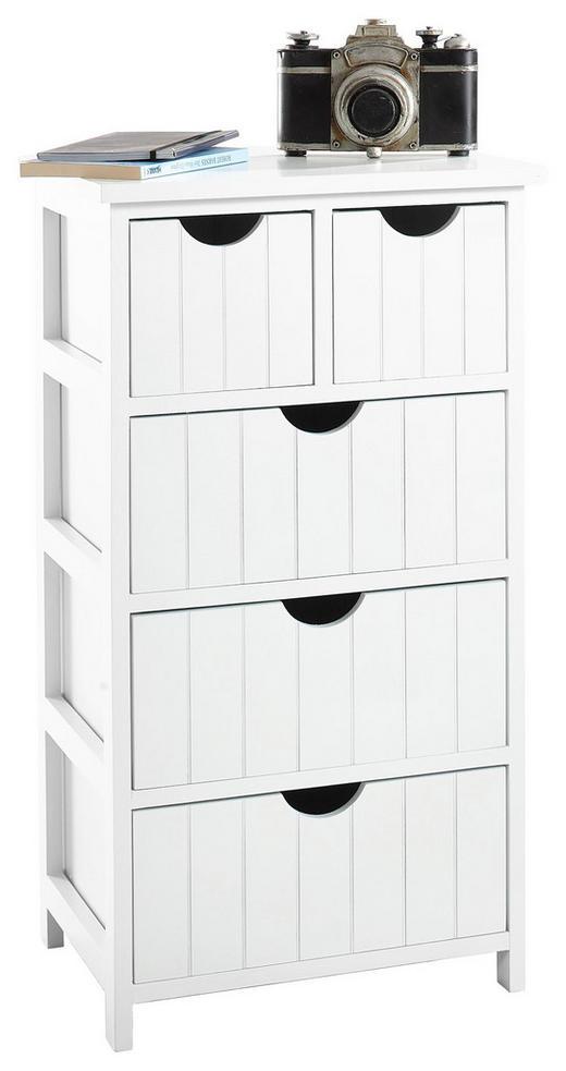 KOMMODE 40/73/29 cm - Weiß, Design, Holz/Holzwerkstoff (40/73/29cm) - Carryhome