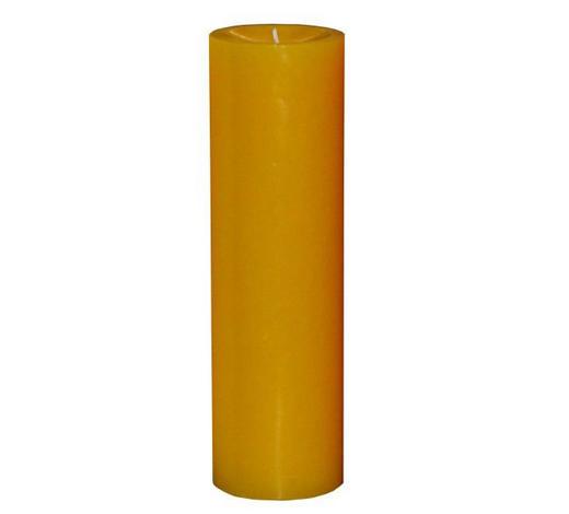 STUMPENKERZE 6,8/25 cm  - Gelb, Basics (6,8/25cm) - Steinhart
