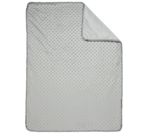 SCHMUSEDECKE  - Hellgrau, Basics, Textil (75/100cm) - My Baby Lou