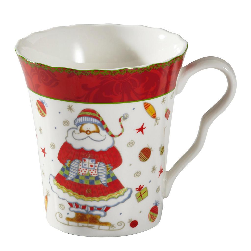 Weihnachtsbecher für Kaffee und Tee